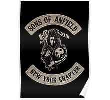 Sons of Anfield - New York Chapter Poster