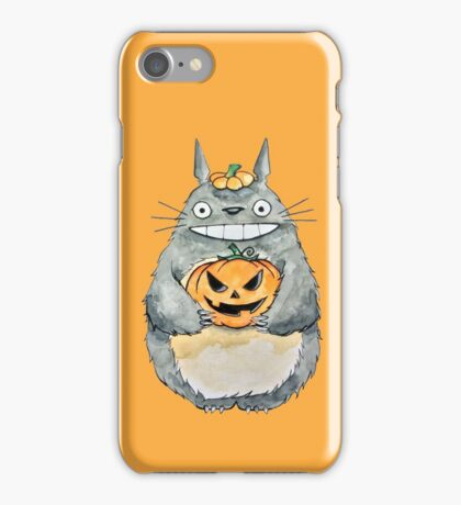 Totoro and his Pumpkin iPhone Case/Skin