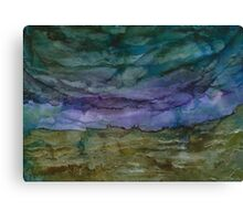 Storms Coming Canvas Print