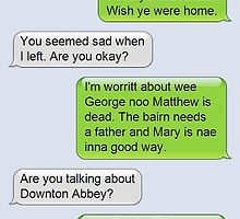 Outlander Today Jamie & Claire Texts: Best Of by denisesf5