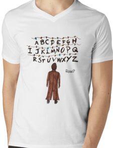 ROSE? (Doctor Who/Stranger Things)  Mens V-Neck T-Shirt