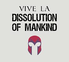 Vive La Dissolution of Mankind! Womens Fitted T-Shirt