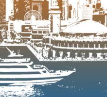 Chicago Skyline T-shirt Design Sticker