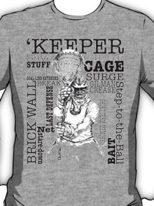 Word Montage-'KEEPER (border) T-Shirt