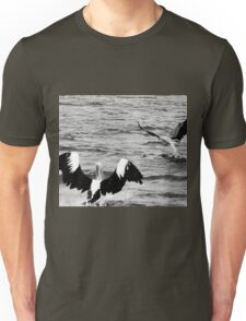 The Pelican and the Sea Eagle Unisex T-Shirt