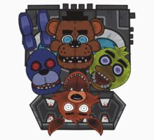 Five Nights at Freddy's One Piece - Short Sleeve