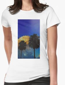 Awesome Sunset! ♡ Womens Fitted T-Shirt