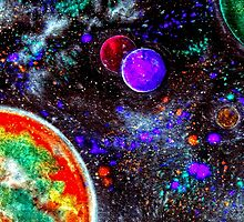 Super Intense Galaxy by bill holkham