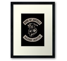 Sons of Anfield - Raleigh Chapter Framed Print