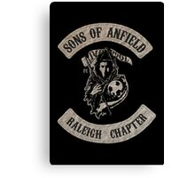 Sons of Anfield - Raleigh Chapter Canvas Print