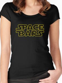 Space Bars Women's Fitted Scoop T-Shirt