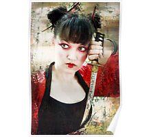Geisha Samurai Poster