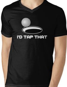 Golf I'd Tap That Mens V-Neck T-Shirt