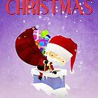 Xmas Santa's Chimney by capdeville13