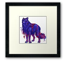 anime animal Framed Print