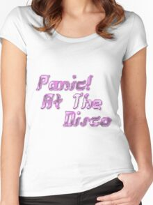 Panic! At The Disco Women's Fitted Scoop T-Shirt