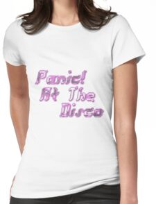 Panic! At The Disco Womens Fitted T-Shirt