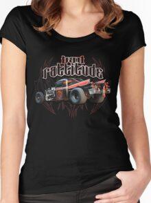 Bad Ratt Women's Fitted Scoop T-Shirt