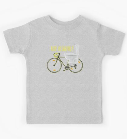 Ride Regularly Kids Tee