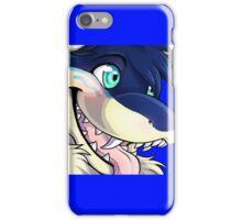 blue wild dogs iPhone Case/Skin