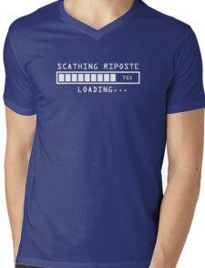 Sarcastic Comment Loading Scathing Riposte Mens V-Neck T-Shirt