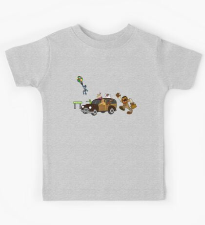 Getting there is half the fun come share it with me Kids Tee