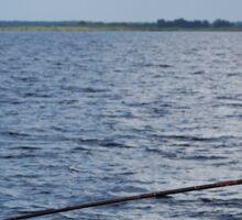 Fishing Lake Monroe Sticker