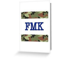 Fuck, Marry or Kill Greeting Card