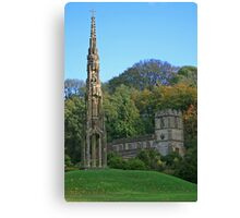 Bristol Cross & St Peter's Canvas Print