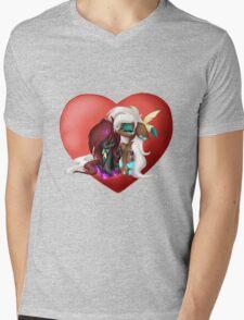 Chibi Love Mens V-Neck T-Shirt