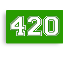 420 HIGH Canvas Print