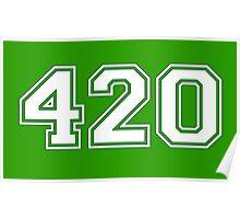 420 HIGH Poster
