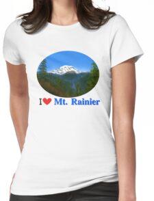 Mt Rainier Womens Fitted T-Shirt