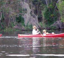 Kayaking on the St. Johns Sticker