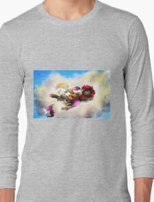 Nap in the Sky Long Sleeve T-Shirt