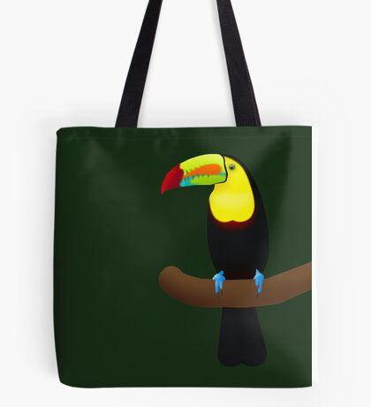 Keel Billed Toucan Tote Bag
