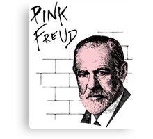 Pink Freud Sigmund Freud Canvas Print