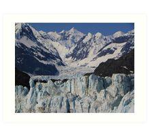 Glacial Flow Art Print