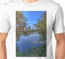 Bottle brush beside the lake Unisex T-Shirt