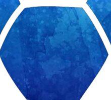 Soccer Ball Dark Blue Sticker