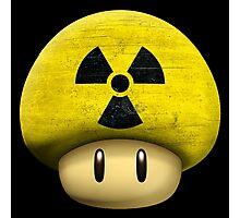 Atomic Mario's mushroom Photographic Print