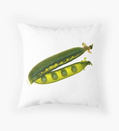 Ripe Peas Throw Pillow