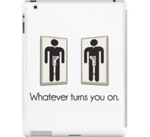 Whatever Turns You On Gay Male Light Switch iPad Case/Skin