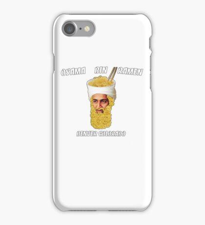 Osama Bin Ramen iPhone Case/Skin