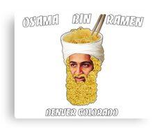 Osama Bin Ramen Canvas Print