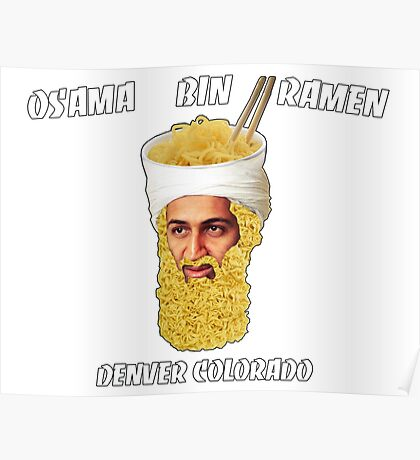 Osama Bin Ramen Poster