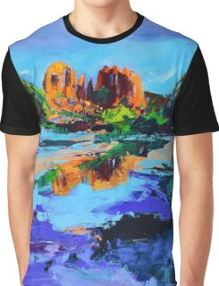 Cathedral Rock - Sedona Graphic T-Shirt