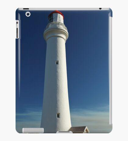 Split Point Lighthouse Blue iPad Case/Skin