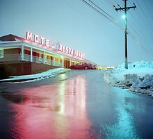 Rainy Motel Lights  by DanielRegner