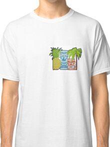 Pineapple Tiki Hut Classic T-Shirt